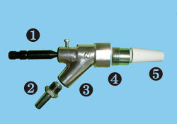 Nozzle for suction (exploded view)_250